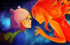 Finn e Princesa de Fogo >