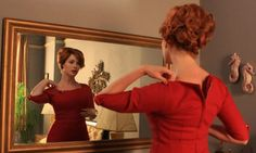 Joan Holloway Mad Men Hair -Back View