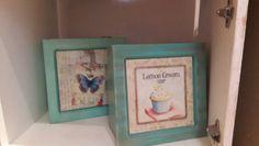 Cajas de té con azulejo sublimado