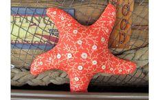 Free Pattern: Starfish pillow