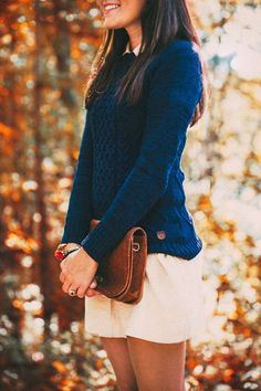 kieljamespatrick: Foliage Knit New Post on Classy Girls Wear...