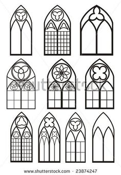 Windows In Gothic Style By Ivana Ropkova Via ShutterStock