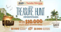 Treasure Hunt Sweepstakes
