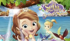 Sofia The First Jewel Match Mickey Mouse Parties, Mickey Mouse Clubhouse, Mickey Mouse Birthday, Princess Birthday, Fun Games, Party Games, Games For Kids, Tangled Party, Tinkerbell Party