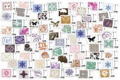 Briefmarken für die Hochzeitspapeterie | Design: Paper & Soul