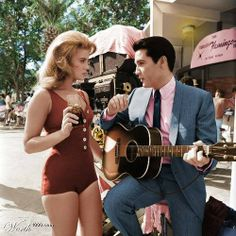 """Viva Las Vegas"" 1964 -  If the plot line for ""Viva Las Vegas"" sounds familiar – Vegas gambling, race cars & hit song/dance routines – what makes it enduringly popular is the palpable on screen electricity between Elvis and Ann-Margaret. Their off screen affair was documented in contemporary gossip columns.  But, haggling between Elvis' mgr and the film's director over screen time dedicated to his client meant that the pair's sizzling version of ""You're The Boss"" was not included in the…"
