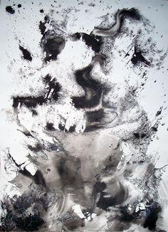 Alev Ozkaynak(American)/  Untitled 2008/  ink on paper