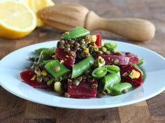 20 Winter Salad Recipes - iVillage  Lemony Lentil Salad  Packed with protein and bursting with color, this nutrient-rich salad is more than a side dish. You'll want to make this vegetarian meal all winter long.