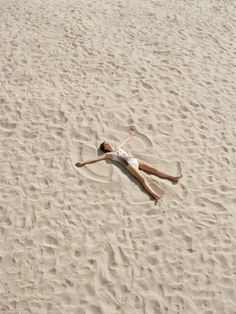Become one with the beach