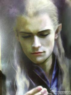 Legolas art (cred on pic)
