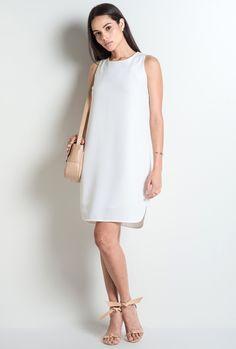 Vestido Viareggio Off White - MyBasic