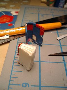 Making a Miniature Book