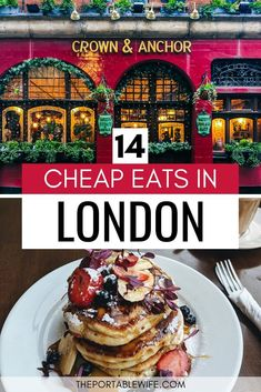 14 Cheap Eats in London (and Where to Find Them) - Traveling to London on a budget? This list of cheap eats in London has got you covered! My London t - Europe Travel Guide, Budget Travel, Travel Tips, Travel Ideas, Travel Uk, Shopping Travel, Travel England, Beach Travel, Hawaii Travel
