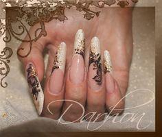 chocolate by Darhon - Nail Art Gallery nailartgallery.nailsmag.com by Nails Magazine www.nailsmag.com #nailart