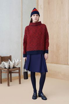 Knitted Sweaters and Skirts For Fall-WInter 2014-2015 (8)