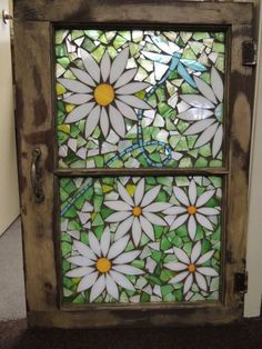 My Gallery – Cindy Laneville Mosaic Flowers, Stained Glass Flowers, Faux Stained Glass, Stained Glass Designs, Stained Glass Projects, Stained Glass Patterns, Mosaic Crafts, Mosaic Projects, Mosaic Art