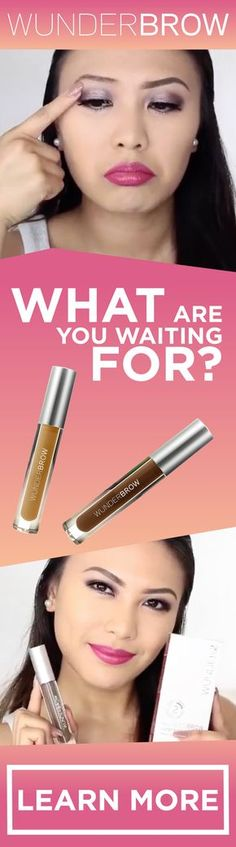 The WunderBrow effect! What are you waiting for - only $22! Perfect brows are only a few clicks away! Thanks to the innovative technology in WunderBrow you'll never need to worry about your brows again! WunderBrow comes in 4 unique shades that will match yours needs perfectly! With free shipping & a risk free 30 day money back guarantee - what do you have to lose from trying one of the most hyped brow products on social media! Join the hype today! Over 500,000 happy WunderBrow customers…