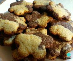Galletas bicolor súper fáciles y súper rápidas - Fácil Super Rapido, Cookies, Desserts, Food, Yummy Recipes, Appetizers, Breakfast, Biscuits, Meal
