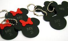 Chaveiro Personalizado Mickey e Minie