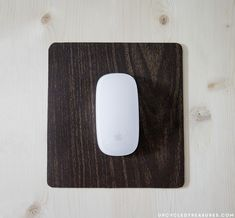 Rustic-modern-mousepad-makeover-with-contact-paper-upcycledtreasures