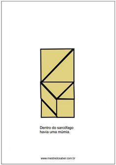 Livro com imagens de tangram Math Activities, Geometry Activities, Lesson Planning, Math Notebooks, Happy Children, Learning, Book