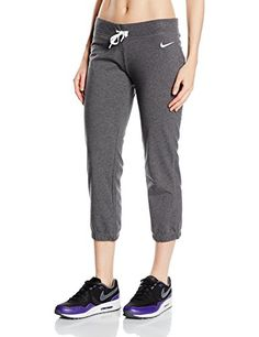 Activewear Tops Adidas Performance Damen Fitness Trainingshose Ess Solid Cuffed Pant Schwarz