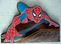 Spider Man Gingerbread Cookie made by Jeziba Gingerbread Cookies, Gingerbread Houses, Nerdy, Party Themes, Pop Culture, Spiderman, Geek Stuff, My Favorite Things, Character