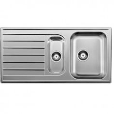 Blanco Livit 6 S Inset Stainless Steel Kitchen Sink - Livit 6 S S/ST
