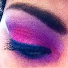 #Ecotools #ShanyCosmetics #Maybelline #makeup #eyelashes #Eyemakeup #eyeshadow #eyeballoftheday #iamshortandgeeky #Ilovecolors #CutCreaseMakeup #tooglamtogiveadamn #pink #purple #internetprincess #pastelprincess #glam