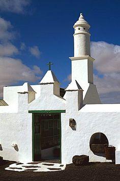 Spain, Canary Islands, Lanzarote, Peasant' house (Manrique)
