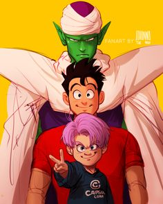 Dragonball's Next Generation Z Fighters — johannathemad: yes ma'am I can assure you those. Blade Runner, Baby Trunks, Z Tattoo, Dbz Characters, Generation Z, Dragon Ball Gt, Character Design References, Anime, Hands