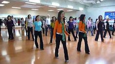 i gotta feeling line dance - YouTube