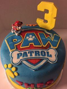Paw Patrol Cake by Posh Parties by Paula