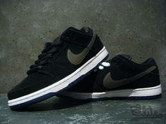 promo code f89c7 7626b Nike Dunk Low Pro SB - black  mid fog  mid navy  white