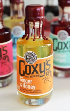 Coxy's Kent Liqueurs on Packaging of the World - Creative Package Design Gallery