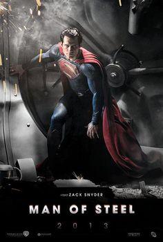 Man Of Steel - June 14, 2013  Henry Cavill as Superman...yes please!!!!