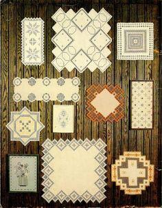TWO Volumes ~ Award Winning Hardanger Designs 1980 & 1981, in my shop now! #hardanger