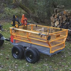 This handy Bannon Utility Trailer features a large x steel bed to haul loads up to lbs. Atv Dump Trailer, Quad Trailer, Bug Out Trailer, Semi Trailer, Utility Trailer, Utv Trailers, Landscape Trailers, Vacation Mood, Decking Material