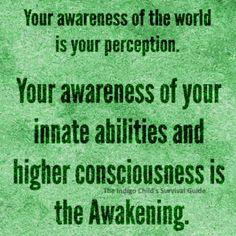When you realize you are creating the world you observe through your thoughts…