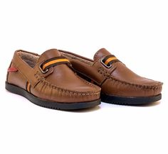 Buy Loafers for Boys Baby - Footwear - Cesare Tan Loafers Online India | The Little Shopper