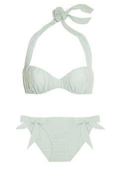 Mint green Carine Gilson bikini #hourglass