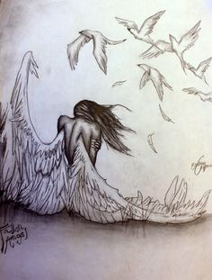 Pencil Pizazz by Emmy Capman: Fallen Angel