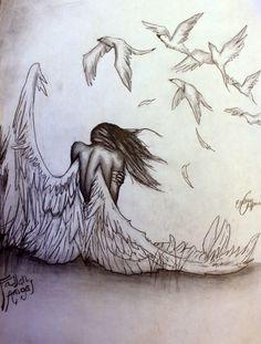 Pencil Pizazz by Emmy Capman: Fallen Angel