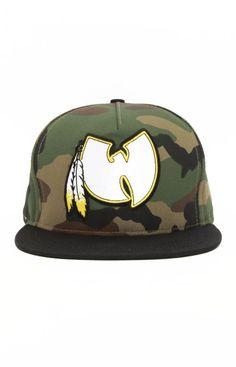 Wu-Tang Brand, DC Wu Snap-Back Hat - Camo
