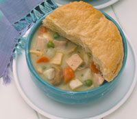 Turkey Leftovers: Turkey and Mushroom Pot Pie