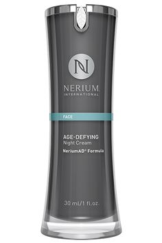 This clinically tested age-fighting product is powered by our excusive NeriumAD® Formula. Age-Defying Night Cream contains the most concentrated, powerful form of our proprietary NAE-8® extract. It is designed to adhere to skin for maximum delivery of key ingredients. Apply at night when skin is in its rest-and-repair cycle.