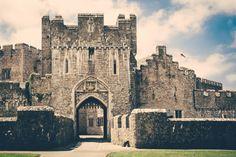 Entrance at St Donats Castle