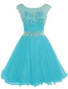 Shop a great selection of Sarahbridal Women's Short Tulle Beading Homecoming Dresses Prom Party Gowns. Find new offer and Similar products for Sarahbridal Women's Short Tulle Beading Homecoming Dresses Prom Party Gowns. Pretty Prom Dresses, Homecoming Dresses, Cute Dresses, Beautiful Dresses, Short Dresses, Girls Dresses, Dress Prom, Chiffon Prom Dresses, Dresses Dresses