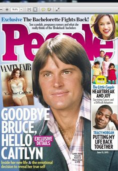 magazine people usa goodbye bruce hello caitlyn inside her new life