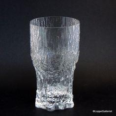 Iittala: Aslak - Ølglas / Beerglass Retro Design, Vintage Designs, Vintage Ceramic, Household Items, Finland, Scandinavian, Glass Art, Art Ideas, Pride